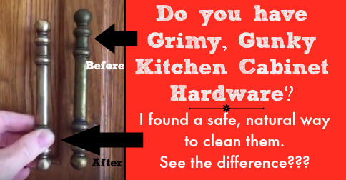 How To Clean Kitchen Cabinet Hardware And Knobs
