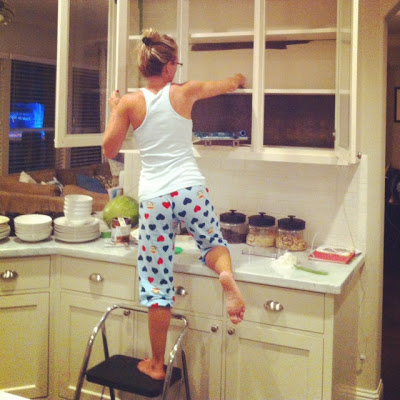 How To Clean Kitchen Cabinets Before Painting I prefer to use ...