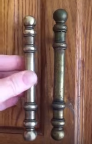 how to clean brass kitchen cabinet handles how to clean kitchen cabinet hardware and knobs 9326