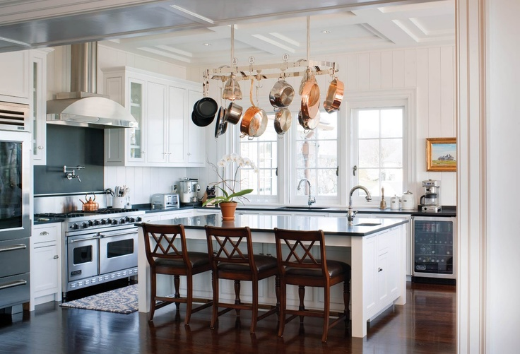Wonderful Hanging Rack For Pots And Pans Home Design Ideas