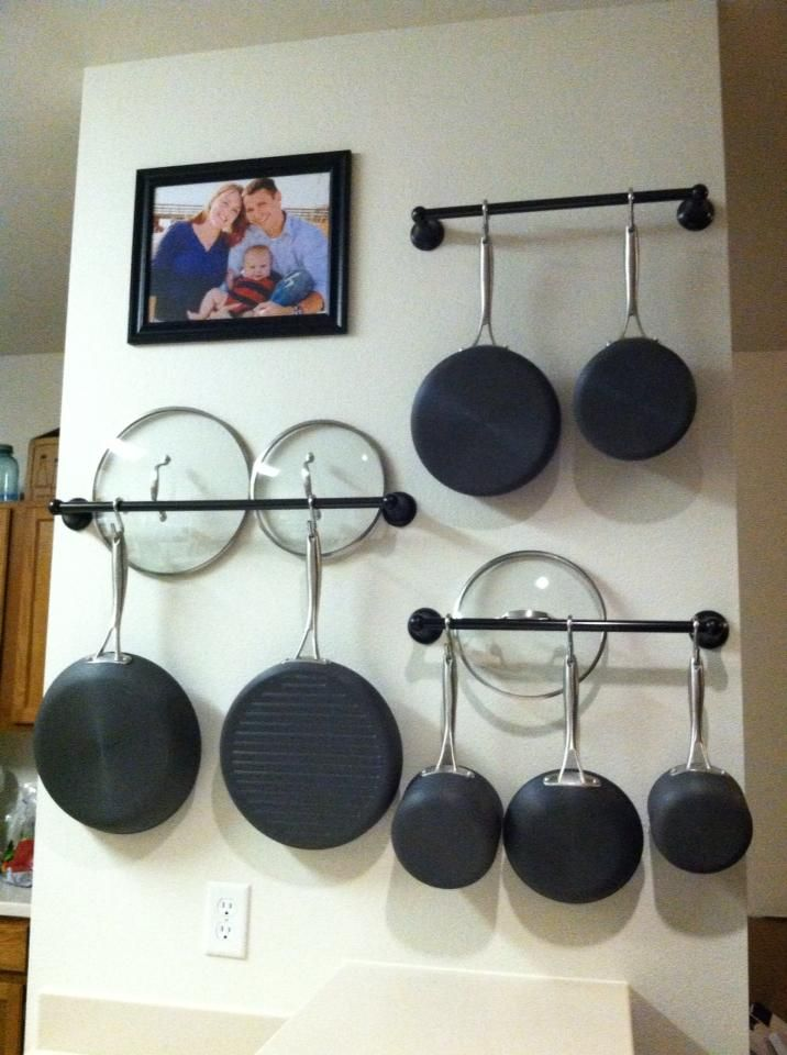 Wall Racks To Hang Your Pots And Pans