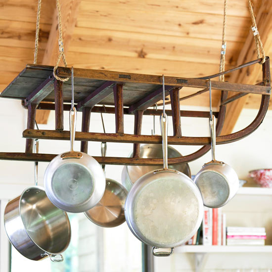 Creative Ways To Hang Pots And Pans