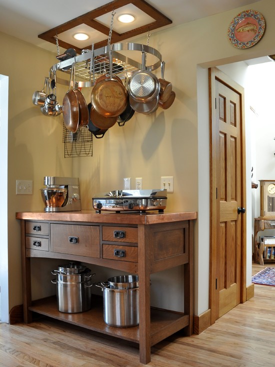 Marvelous How To Choose The Perfect Rack For Hanging Pots And Pans For Your Kitchen? Photo