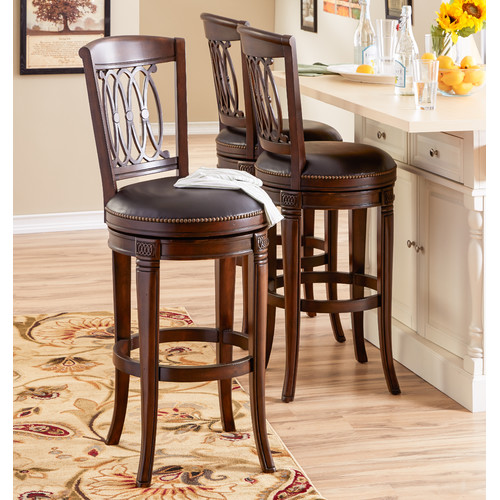 Kitchen swivel counter stools seats for your guests for Kitchen swivel bar stools