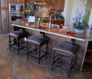 Backless Swivel Counter Stools
