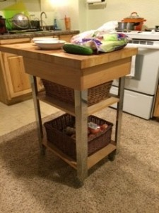 My kitchen island