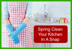 Spring Clean Your Kitchen in a Snap!