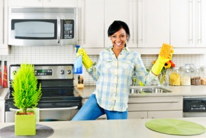 You will love the results of a spring cleaned kitchen.