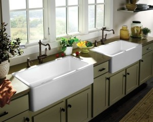 Double Farmhouse Apron Sinks For My Kitchen