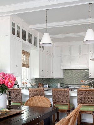 Country Cottage Kitchens Need Some Wicker