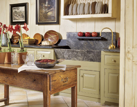 Create a country cottage style kitchen - English cottage kitchen designs ...