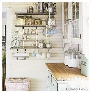 Change Up Your Cabinets For A Country Cottage Kitchen