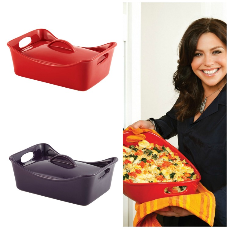 Rachael Ray Bubble Brown Lasagna Casserole Dish