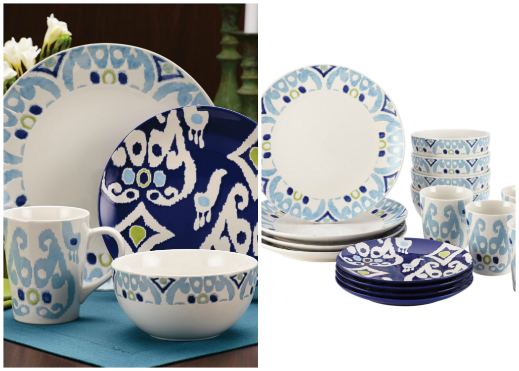 Rachael Ray Dinner Set Ikat Collection