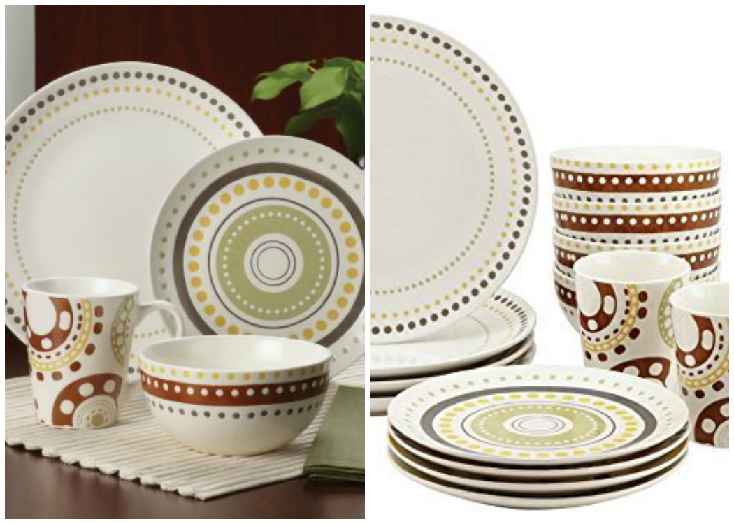 Rachael Ray Stoneware Sets Circles and Dots