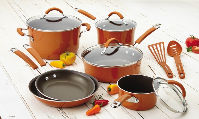 rachael ray cookware rachael pots and pans set 28445