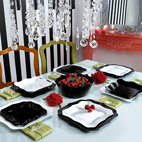 my favorite black and white dinnerware sets. Black Bedroom Furniture Sets. Home Design Ideas