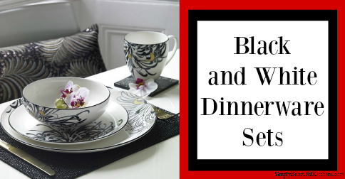 & My Favorite Black and White Dinnerware Sets