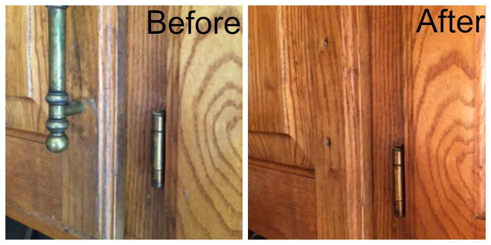 cleaning kitchen wood cabinets get grease kitchen cabinets easy and naturally 5457