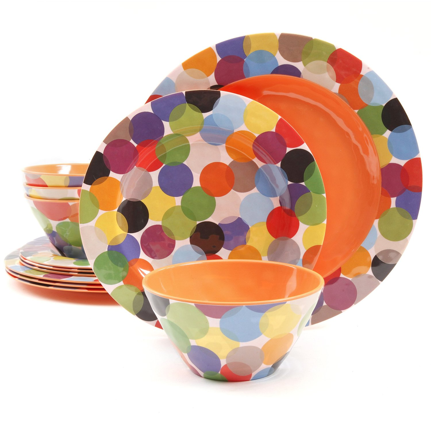 Melamine Dinnerware Sets  sc 1 st  Simply Beautiful Kitchens & Are Melamine Dinnerware Sets Unbreakable?