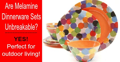Are Melamine Dinnerware Sets Unbreakable & Childrens Melamine Dinnerware Sets - Castrophotos