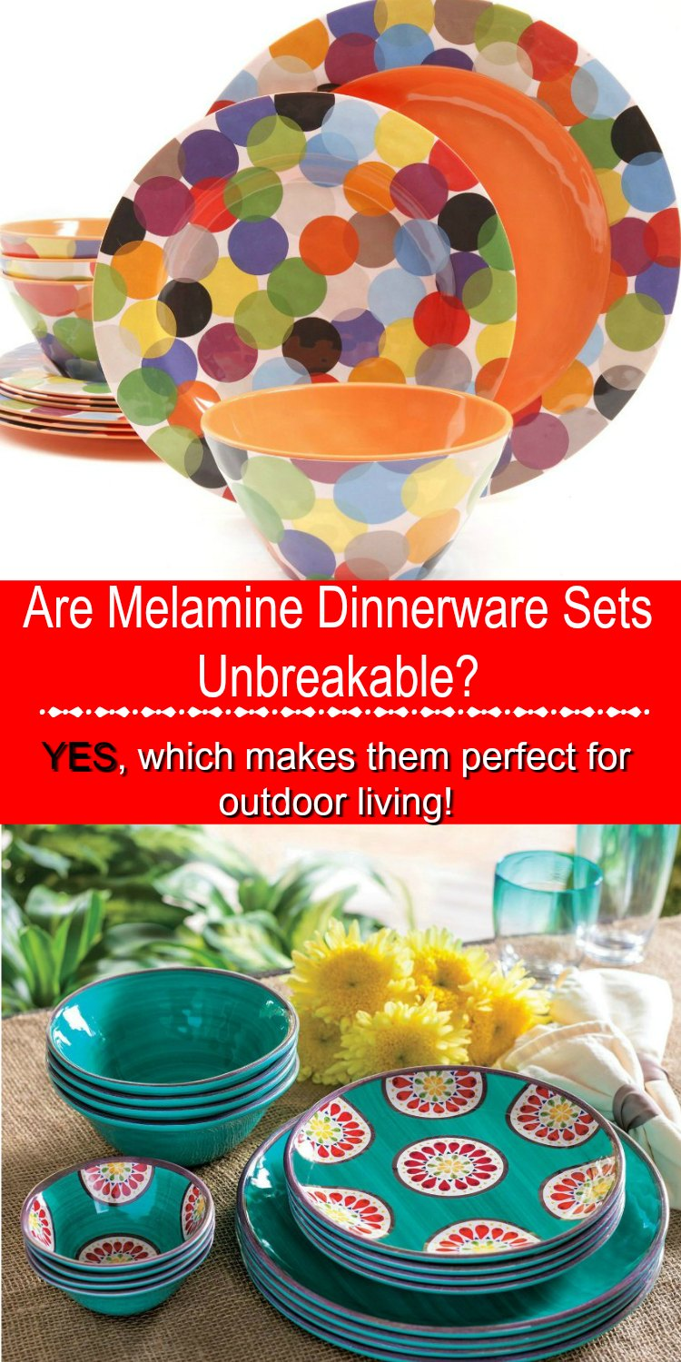 are melamine dinnerware sets unbreakable - Melamine Dishes