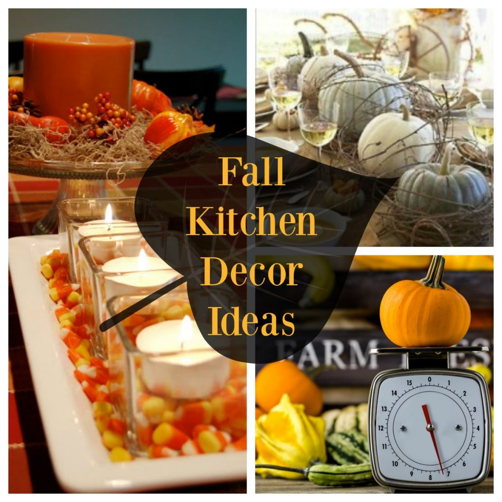 Kitchen Decor For Fall: Decorate With Pumpkins, Gourds And Foliage