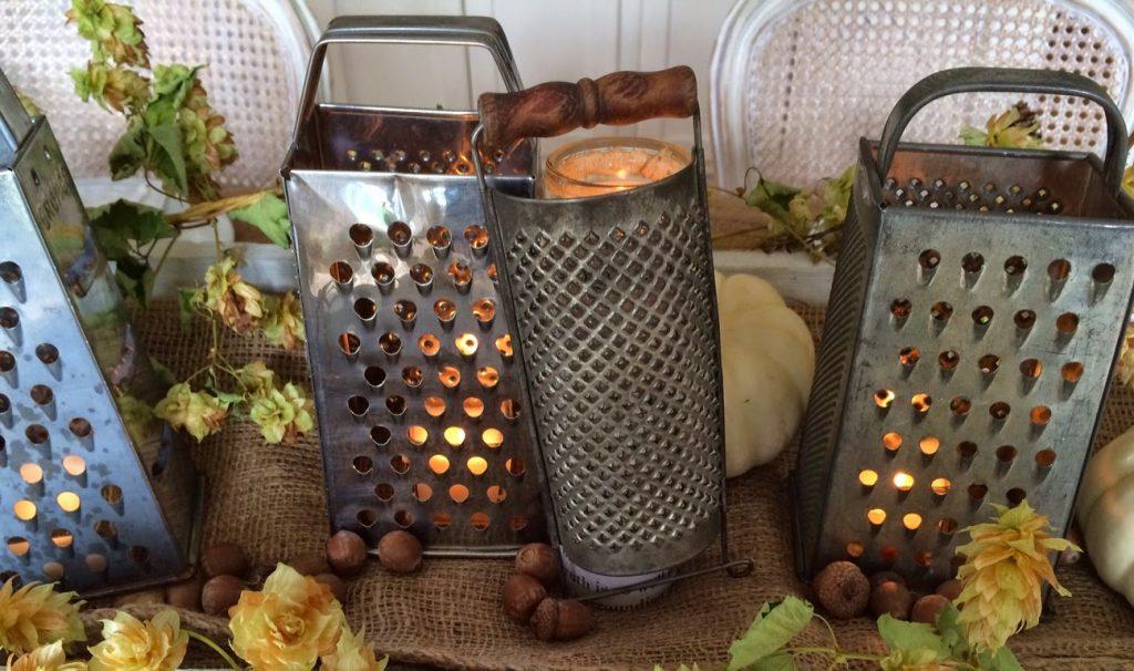 Fall Kitchen Lanterns
