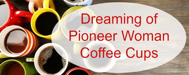 Pioneer Woman Coffee Cups