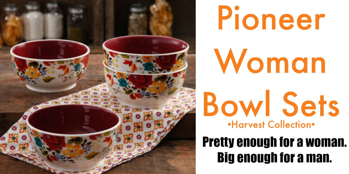 The pioneer woman bowl sets the pioneer woman kitchen for Drummond cleaning products