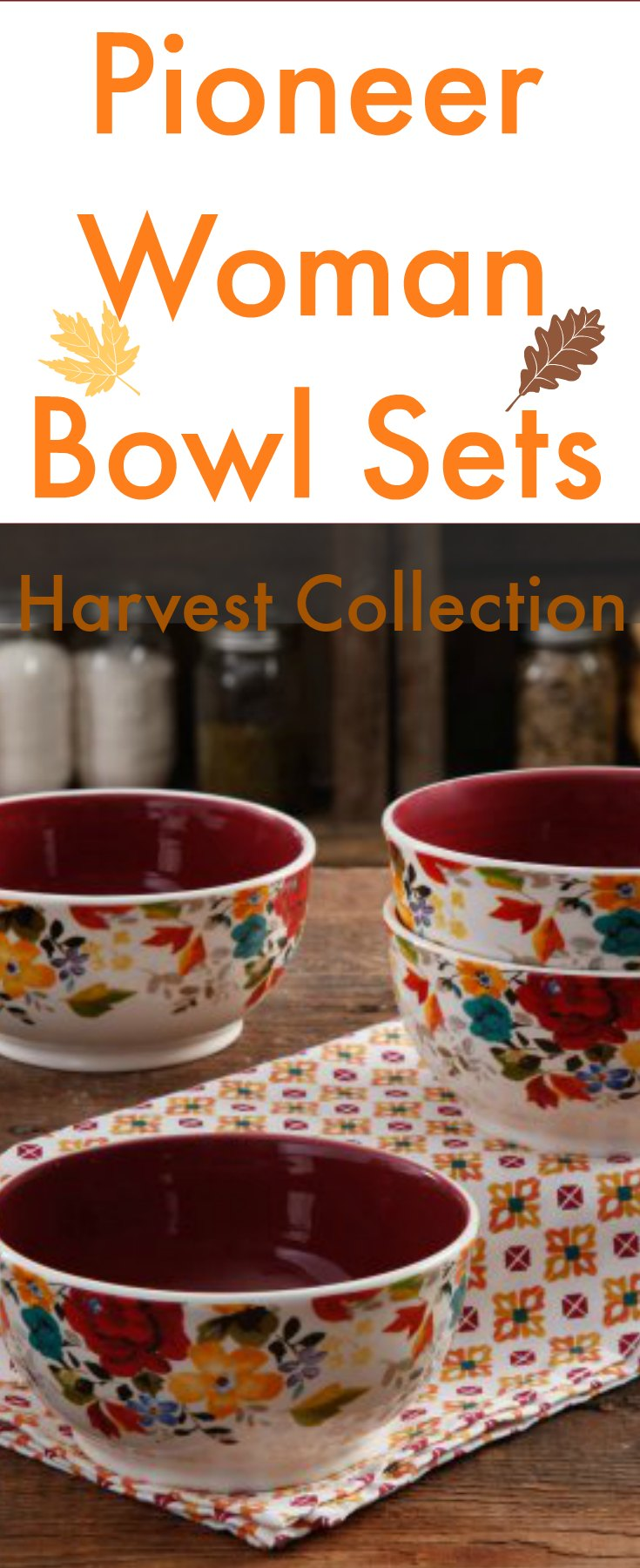 The Pioneer Woman Bowl Set