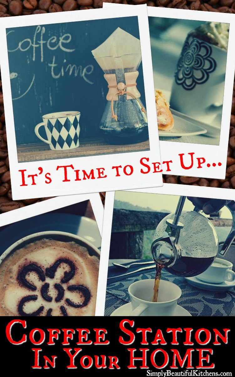 Set Up Coffee Station in Your Home