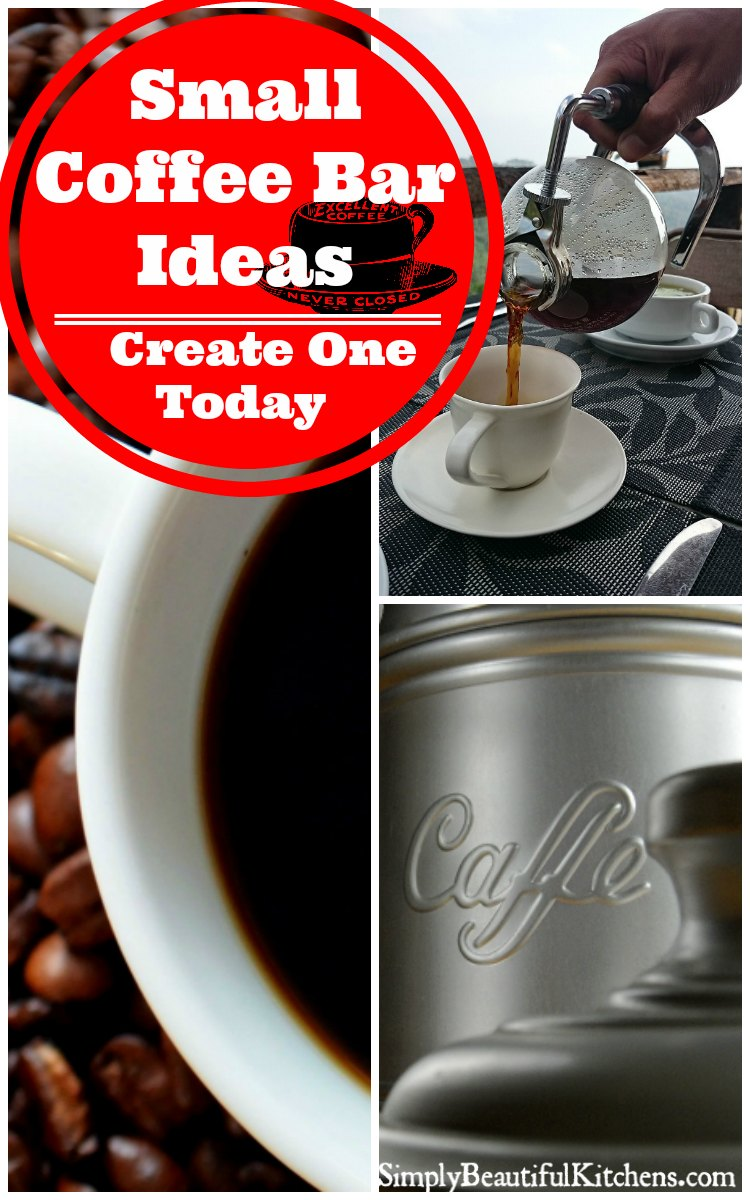Small Coffee Bar Ideas - Create One Today