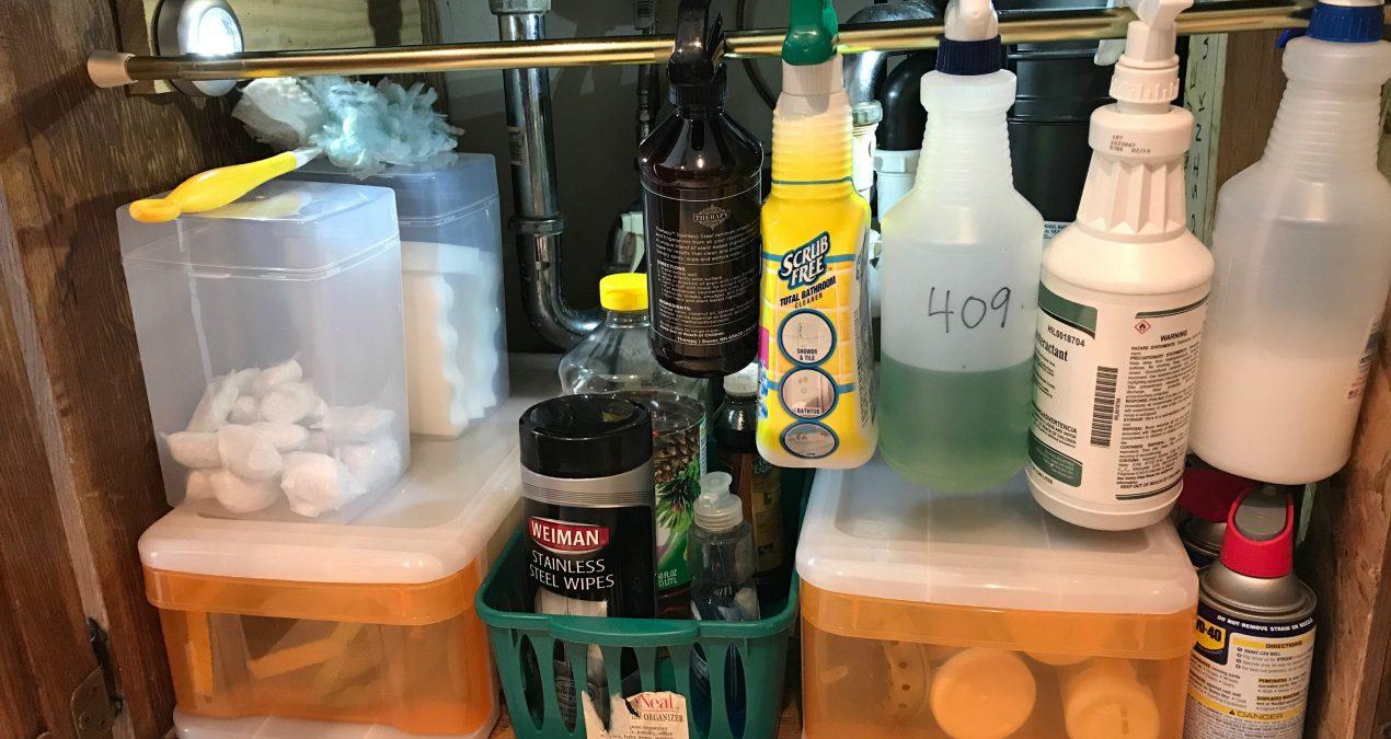 My Under Kitchen Sink Organizing Adventure