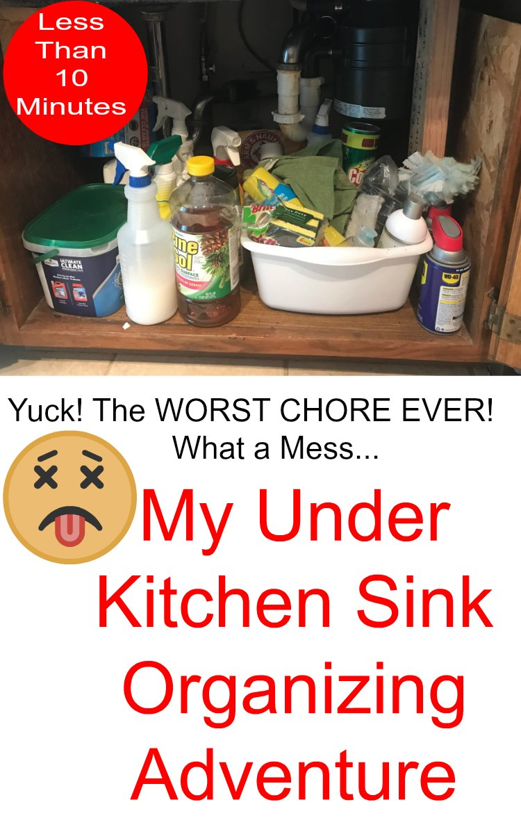 under kitchen sink organizers