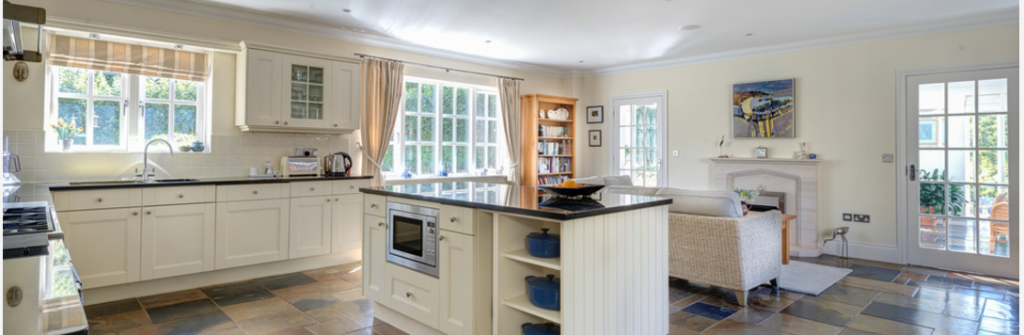 Cobalt Blue and White Kitchen   Kitchens You Can Have