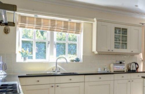 Cobalt Blue & White Kitchen Faucet