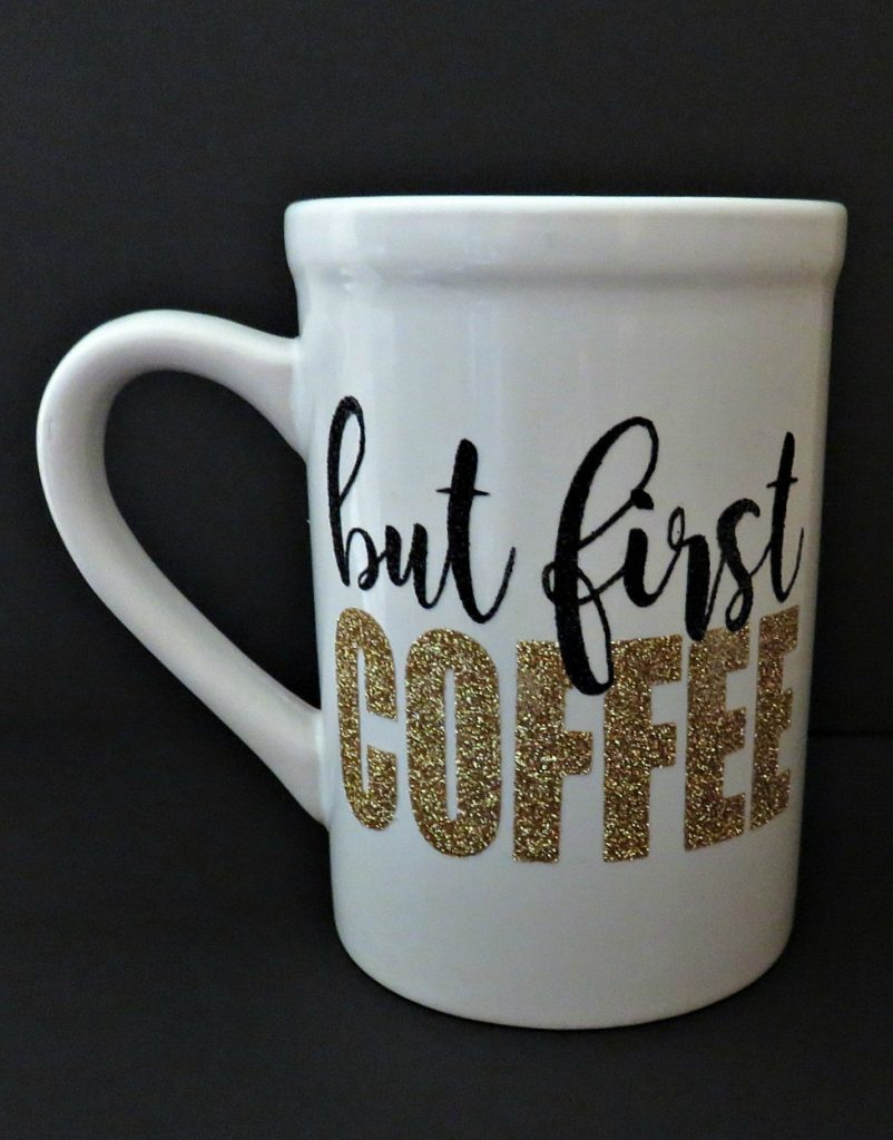 Coffee Mug with Cricut