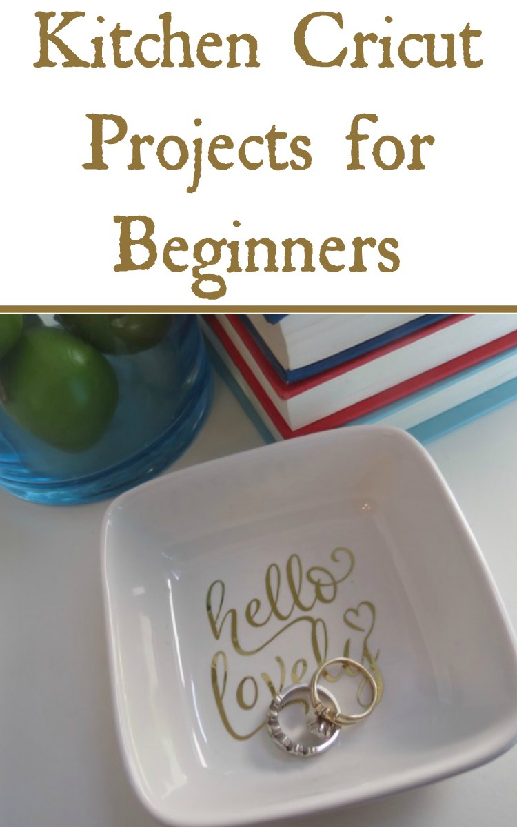 Kitchen Cricut Projects for Beginners