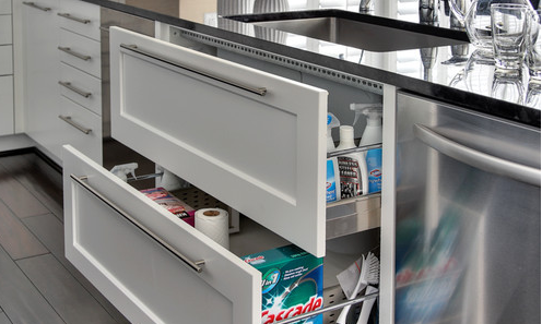 Under Sink Organizer Pull Out Drawers